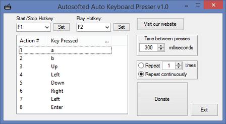 Auto Keyboard Presser Download